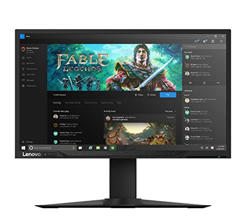 Lenovo Curved Monitor Curved Monitor (Chroma) 27 inch FHD zwart