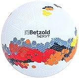 Betzold Sport 757112 - Schulhof-Fussball Kinder Größe 5 - Trainings-Ball Fußball Gummiball - Betzold-Sport