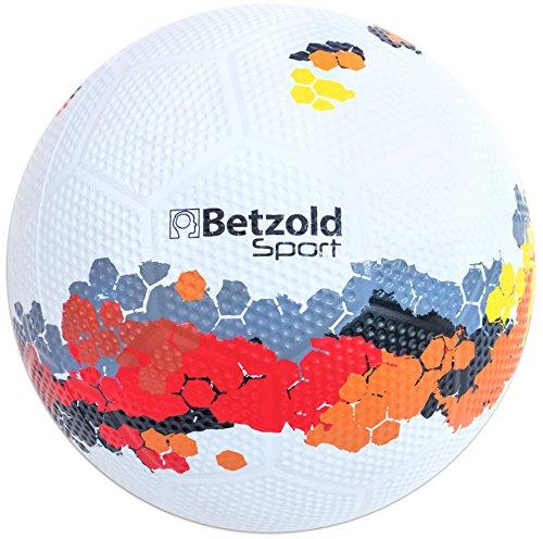 Betzold Sport 757112 - Schulhof-Fussball Kinder Größe 5 - Trainings-Ball Fußball Gummiball