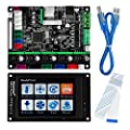 KOOKYE 3D Printer Parts MKS Robin nano Integrated Circuit mainboard Controller Motherboard with Robin TFT35 Display closed source software with FFC Line & USB Cable