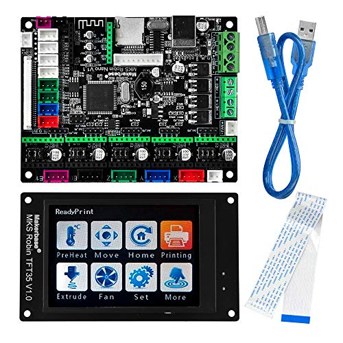 KOOKYE 3D Printer Parts MKS Robin nano Integrated Circuit mainboard Controller Motherboard with Robin TFT35 Display closed...