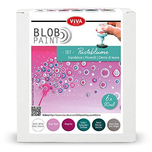 Viva Decor Blob Paint Farbset (Pusteblume)
