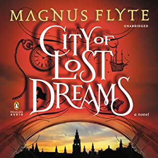 City of Lost Dreams audiobook cover art