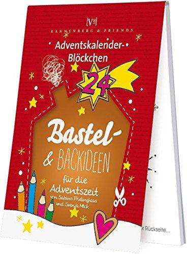 Bastel - und Backideen für die Adventszeit: Adventskalenderblöckchen