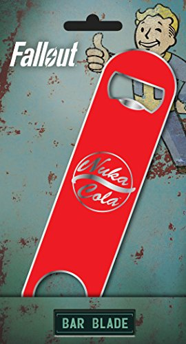 GB Eye Fallout Nuka Cola Bar Klinge, Stahl, Mehrfarbig, 18,5x 11,5x 0,9cm