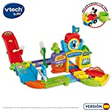 VTech Play Set electrónico interactivo con 'La Estación de tren' y un coche exclusivo de Mickey (80-512222)