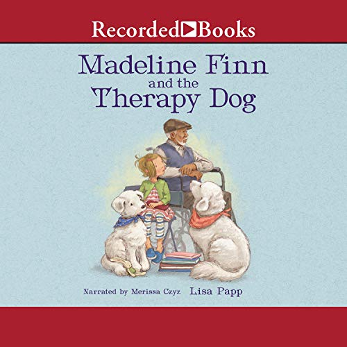 『Madeline Finn and the Therapy Dog』のカバーアート