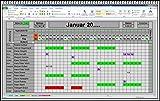 Excel Urlaubsplaner 2020 2021 u.s.w. digitaler elektronischer Urlaubskalender Personalplaner Dienstplaner Urlaubsplan mit Statistik Jahresübersicht Erinnerungsliste und Urlaubsantrag