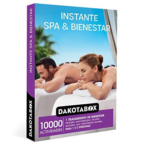 Dakotabox - Coffret Cadeau Femme Homme Couple idée Cadeau - Instant Spa & Bien-être - 10000 activités de Bien-être telles Que Massages, aromathérapie, Spa et traitements