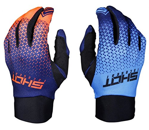 Shop Cross-Handschuhe Aerolite Delta, Blau/Neon Orange, 1 Paar