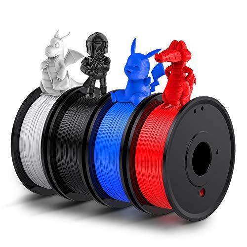 PLA Filament, LABISTS 3D Drucker 1,75 PLA Filament, Filament 1.75mm PLA für 3D Printer