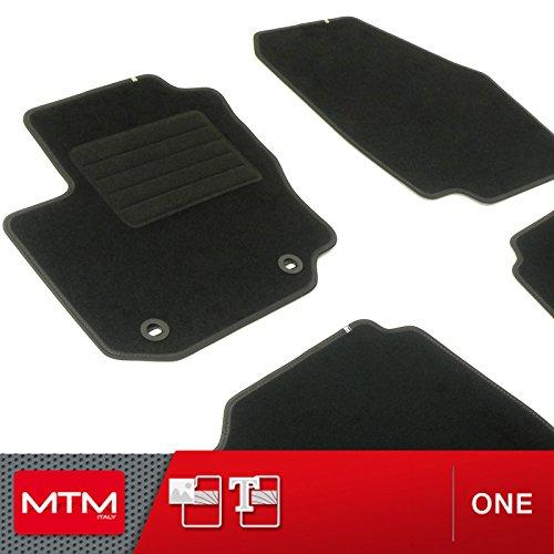 MTM Tapis de Sol Mondeo IV Depuis 09.2007-2014 sur Mesure en Velours Noir, cod. One fr672