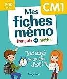 Mes fiches mémo Français et Maths CM1 - 9-10 ans
