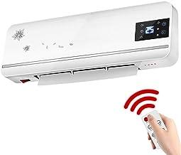 Calentador Radiador de baño doméstico, pequeño Ventilador de Ahorro de energía montado en la Pared con Control Remoto de Alta Potencia de 2000W