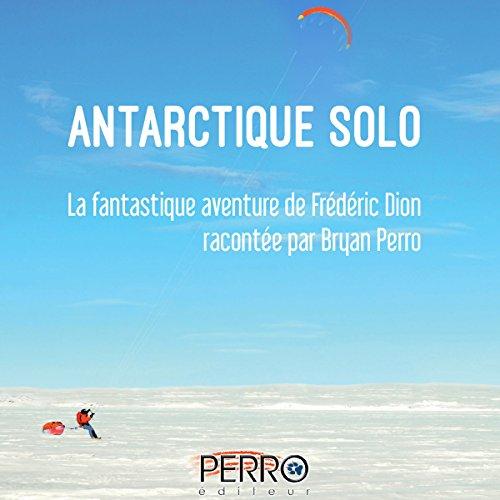 Antarctique solo audiobook cover art