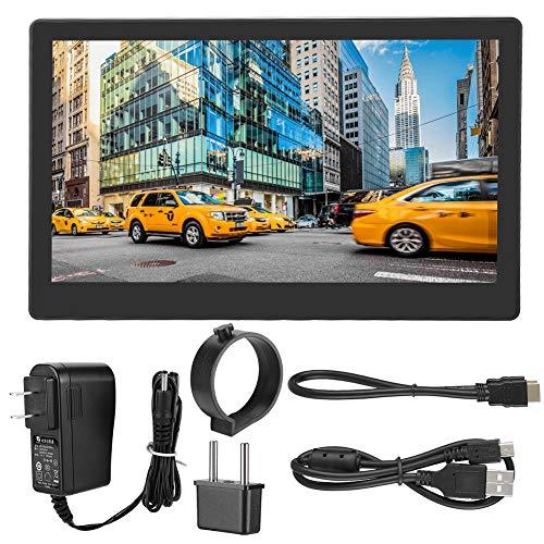 PUSOKEI Monitor portátil, Pantalla táctil capacitiva Full HD 1080P de 11,6 Pulgadas, Monitor de Juego USB C para Raspberry Pi/Laptop/PC/Mac/Phone, Compatible con Windows 10/8.1/8/7