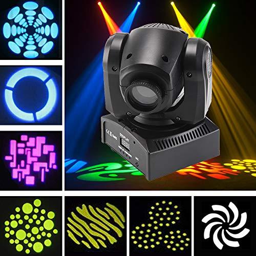 BALLSHOP RGBW Moving Head Light Bühnenbeleuchtung Bühnenlicht DMX LED Stage Beam Light