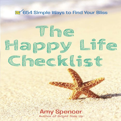 The Happy Life Checklist audiobook cover art