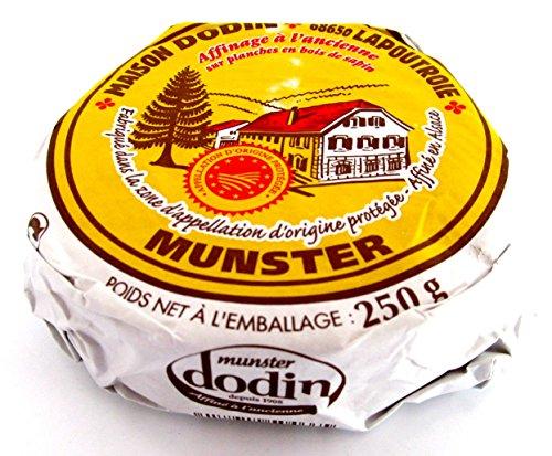 Münsterkäse Münster Käse AOP aus Frankreich 4 x 250 g Stücke