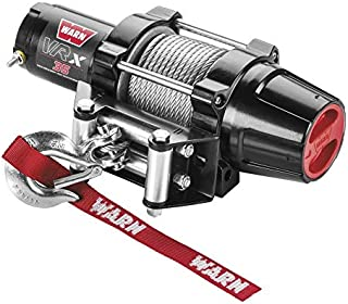 New Warn VRX 3500 lb Winch & Model Specific Mount - 2016-2018 Yamaha 700 Grizzly 4x4 ATV