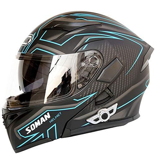 Little ZhuZhu Motorhelm, Bluetooth, volledige locomotief helm, open helm, voor buiten, halve helm, met Bluetooth, niet-verblindend