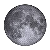 Jigsaw Puzzles 1000 Pieces for Adults,Moon Round Impossible Hard Decompression Puzzles Building Set,Educational Funny Cool Game for Kids and Adults Diameter 26.5""