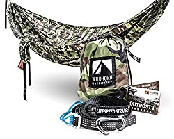 Wildhorn Outpost Double/Single Portable Camping Hammock