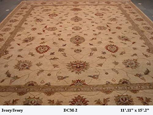 outlet 12x15 Traditional Popular Peshawar Area Rug All items free shipping Wool Handmade Carpet