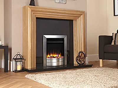 Designer Celsi Fire- Ultiflame VR Essence Electric Fire Brushed Silver