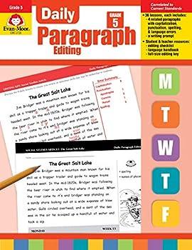 Evan-Moor Daily Paragraph Editing Grade 5