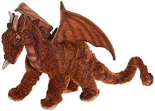 """Set of 2 Life-Like Handcrafted Extra Soft Plush Miniature Great Dragon 11.75"""""""