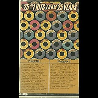 Various: 25 #1 Hits From 25 Years Cassette NM Canada Motown M4 308/2