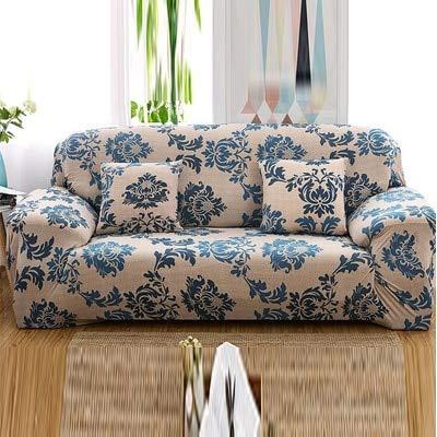 Conjuntos de sofás de Tela elástica Funda de sofá Universal con Todo Incluido Toalla de Cubierta Cojín de sofá de Cuero de Verano Europeo A17 4 plazas