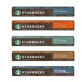 [STARBUCKS by NESPRESSO] スターバックスネスプレッソカプセルコーヒー5種×10カプセル×= 50カプセル[並行輸入品]