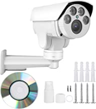 Outdoor Security Camera, 1080P FHD 5X Zoom 4G SIM IP Bullet CCTV Camera Surveillance Camera System with IR Night Vision, 5X Optical Zoom, Motion Detection, Two-Way Audio for Home/Factor/Shop