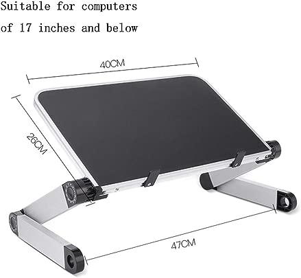 Hxx Laptop-St nder  faltbar  360 -Einstellung Tragbarer  bel fteter Desktop-Laptop Universelle  leichte Tray-Halterung Kompatibel mit folgenden 17-Zoll-Notebooks D