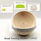 9 Inch Round Bread Banneton Proofing Basket Baking Tools