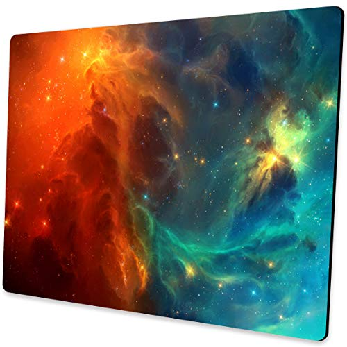 Cool Galaxy Mouse pad for laptops Office Computer Mouse pad Personalized Design Non Slip Rubber Mouse mat