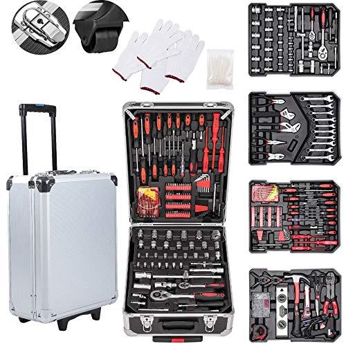 616 Stück Werkzeugkoffer Werkzeugkasten...