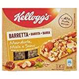 Kellogg'S Barretta Mandorle Miele e Semi, Confezione da 4 x 32g