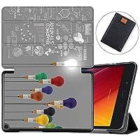 MAITTAO Slim Folio For Verizon ASUS ZenPad Z8S Case ZT582KL 2017 Release, Magentic Smart Stand Cover with Wake/Sleep for Verizon ASUS ZenPad Z8S 7.9-Inch Tablet Sleeve Bag 2 in 1, Flowers & Leafs 16