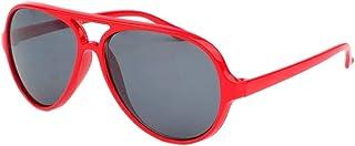 Eye Wear - Gafas de sol para niño (piloto de 6 a 12 años), color rojo