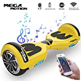 Mega Motion Self Balance Scooter Elettrico E1 6.5' Elettrico Segway - Bluetooth - [Sicurezza UL CE]