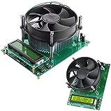 DIANLU31 150W Corriente de la corriente de carga electrónica de la corriente 60V 10A de descarga de la batería de la descarga del tester del módulo del módulo de amperios con 1602 LCD Desplaza la temp