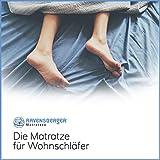Ravensberger Matratzen Latex Oeko TEX 100 7-Zonen-Komfort | H2 RG 60 (45-80 kg) | Made IN Germany - 10 Jahre Garantie | Baumwoll-Doppeltuch-Bezug | 90 x 200 cm - 5