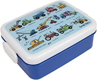 Tyrrell Katz Working Wheels lunch box Boy's by LK Gifts and Homewares