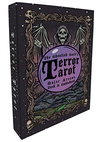 The Ghoulish Garb Terror Tarot - 22 Card Major Arcana Tarot Card Deck and Guidebook