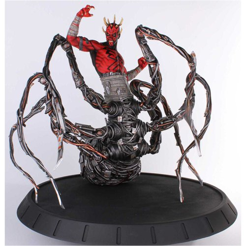 Star Wars Gentle Giant Studios Darth Maul Spider Statue
