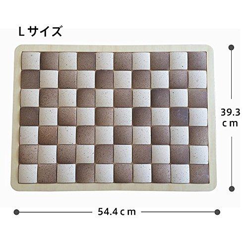 日本ホームプロダクツ『ピュアリフレ珪藻土タイルバスマット』