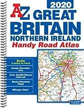 GB Handy Road Atlas 2020 A5 SPIRAL